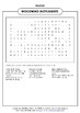 WOODWIND INSTRUMENTS WORD SEARCH