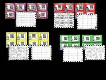 QR CODES for Math and Literacy! WOOF!  WOOF QR Code Mega Pack!