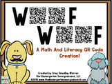 QR CODES for Math and Literacy! Woof Woof!