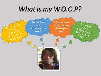 WOOP: Graphic Organizer