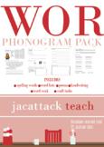 WOR Phonogram Pack (Spalding Based)