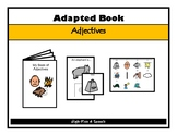 WORD ASSOCIATIONS Adjectives Adapted BOOK, AUTISM, Speech Therapy, ELL