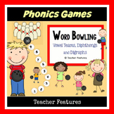 Vowel Teams, Diphthongs & Digraphs Game BOWLING THEME