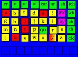 WORD BUILDING INTERACTIVE LETTER CHART