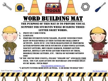 WORD BUILDING MAT