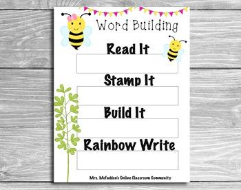 WORD BUILDING MATS