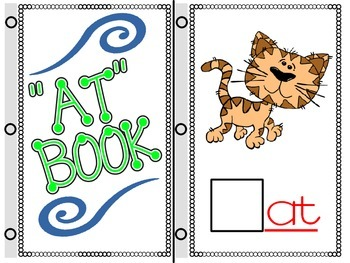 WORD FAMILIES: INTERACTIVE BOOKS for ONSET & RIME