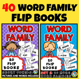 WORD FAMILY BOOKS (READING ACTIVITIES FOR KINDERGARTEN)