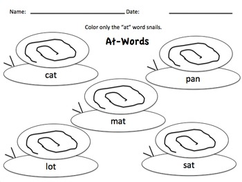 WORD FAMILY FUN Glued-sounds