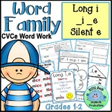 WORD FAMILY LONG I SILENT E Word Work Activities Assessments