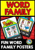 WORD FAMILY HOUSES WITH PICTURES POSTERS