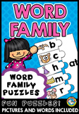 WORD FAMILIES ACTIVITY (ONSET AND RIME CENTER)