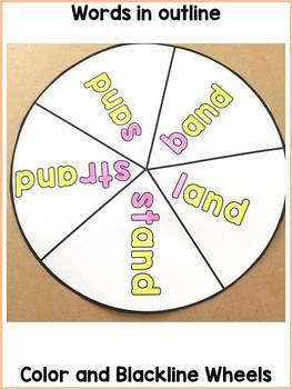 WORD FAMILY WORD WHEELS BUNDLE: VOWELS A, E, I, O, U: PHONICS: READING