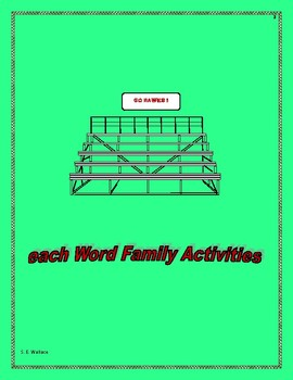 WORD FAMILY WORKBOOK EACH-EST