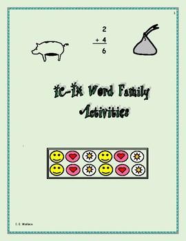 WORD FAMILY WORKBOOK IC-IX