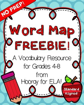 WORD MAP FREEBIE!