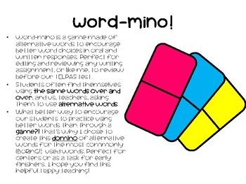 WORD-MINO!