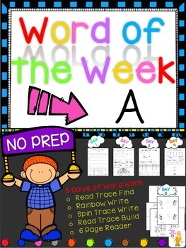 WORD OF THE WEEK - A