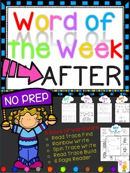 WORD OF THE WEEK - AFTER