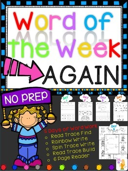 WORD OF THE WEEK - AGAIN