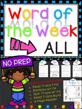WORD OF THE WEEK - ALL