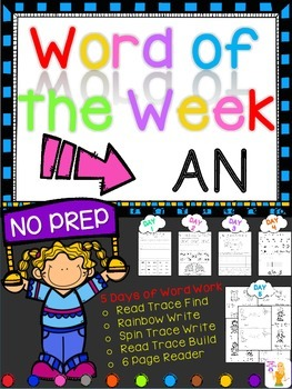 WORD OF THE WEEK - AN