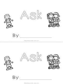 WORD OF THE WEEK - ASK