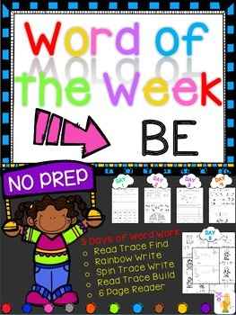 WORD OF THE WEEK - BE