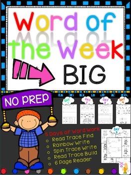 WORD OF THE WEEK - BIG