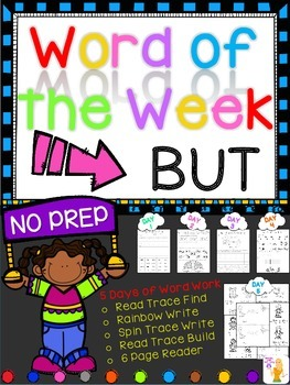 WORD OF THE WEEK - BUT