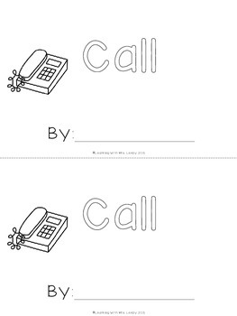 WORD OF THE WEEK - CALL