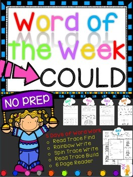 WORD OF THE WEEK - COULD