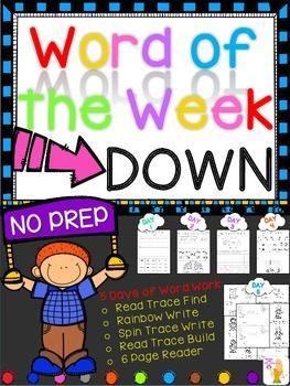 WORD OF THE WEEK - DOWN