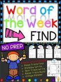 WORD OF THE WEEK - FIND