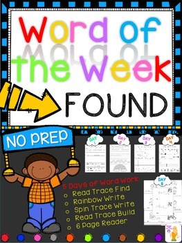 WORD OF THE WEEK - FOUND