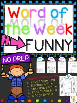 WORD OF THE WEEK - FUNNY