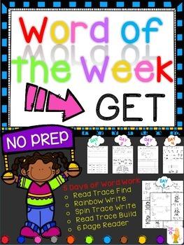 WORD OF THE WEEK - GET