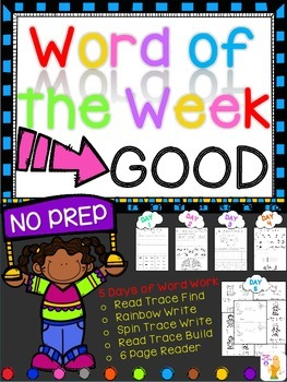 WORD OF THE WEEK - GOOD