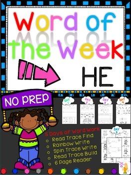 WORD OF THE WEEK - HE
