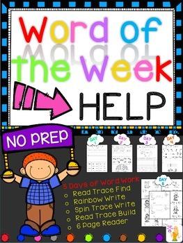 WORD OF THE WEEK - HELP