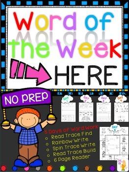 WORD OF THE WEEK - HERE