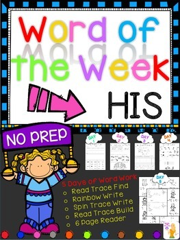 WORD OF THE WEEK - HIS