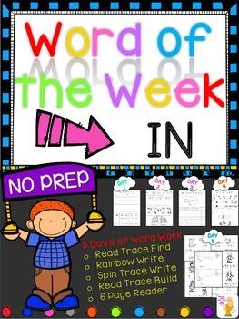 WORD OF THE WEEK - IN