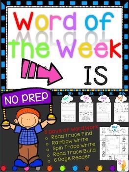 WORD OF THE WEEK - IS