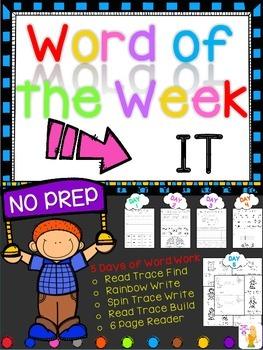 WORD OF THE WEEK - IT