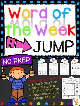 WORD OF THE WEEK - JUMP
