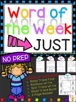 WORD OF THE WEEK - JUST