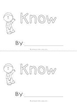 WORD OF THE WEEK - KNOW