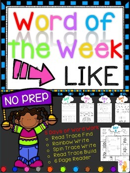 WORD OF THE WEEK - LIKE