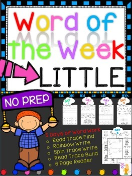 WORD OF THE WEEK - LITTLE